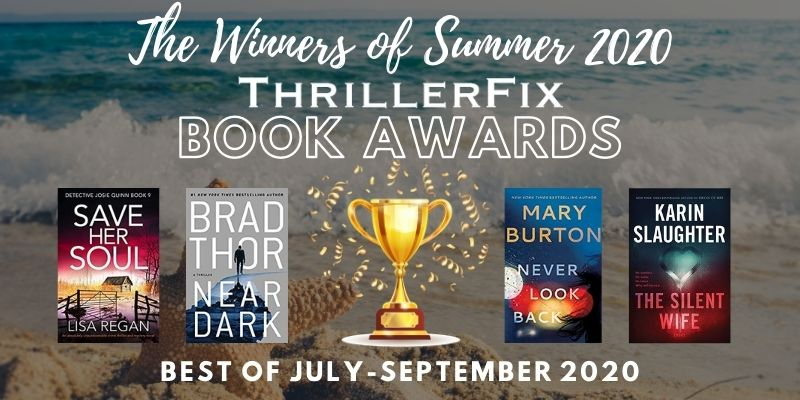 Thrillerfix Book Awards Winner Summer 2020