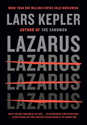 Lazarus, by Lars Kepler